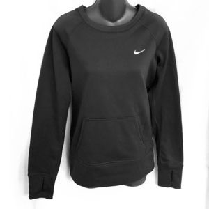 NIKE Therma-Fit Black Pullover Top Size Small